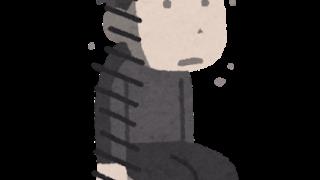 放心状態の男