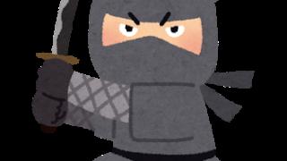 悪そうな忍者