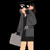 スパイ・工作員風の女性