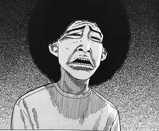 長谷川美知子(中退アフロ田中10巻「気持ちのいい男前」)